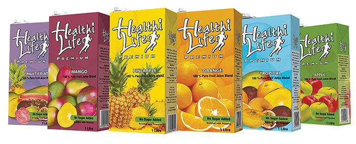 Healthilife Premium Juices