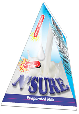 N'sure Evaporated Milk